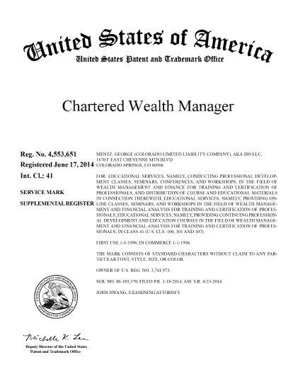 wealth management resumes